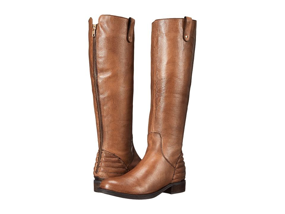 Steve Madden - Arriesw Wide Calf (Cognac Leather) Women