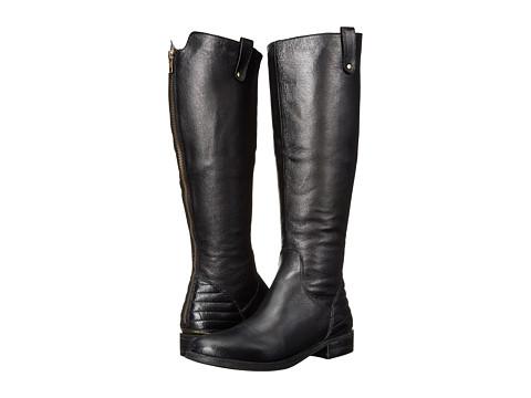 Steve Madden - Arriesw Wide Calf (Black Leather) Women