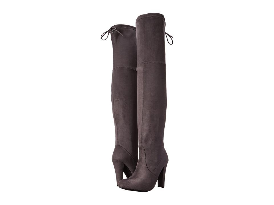 Steve Madden - Gorgeous (Grey) Women's Dress Pull-on Boots