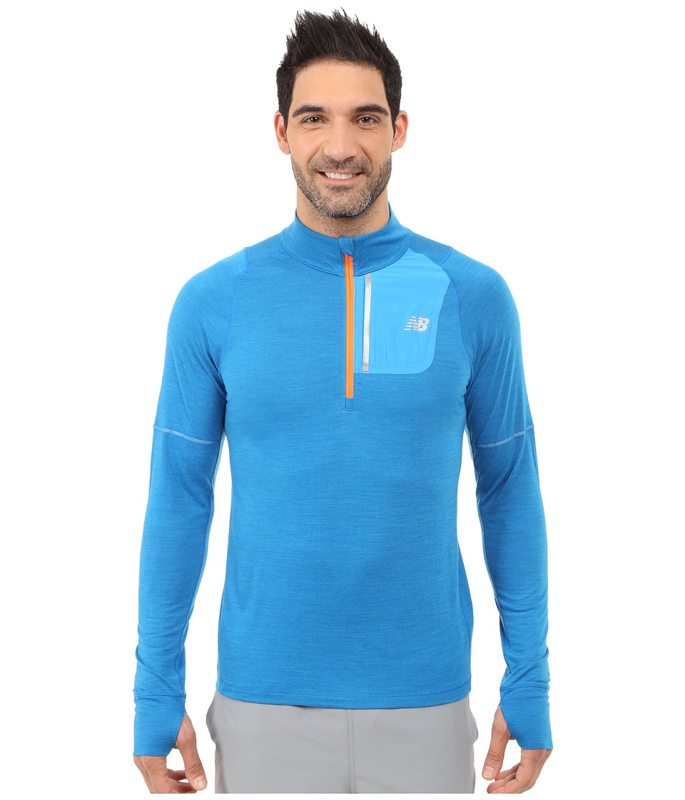 New Balance Performance Merino Half Zip (Sonar) Men