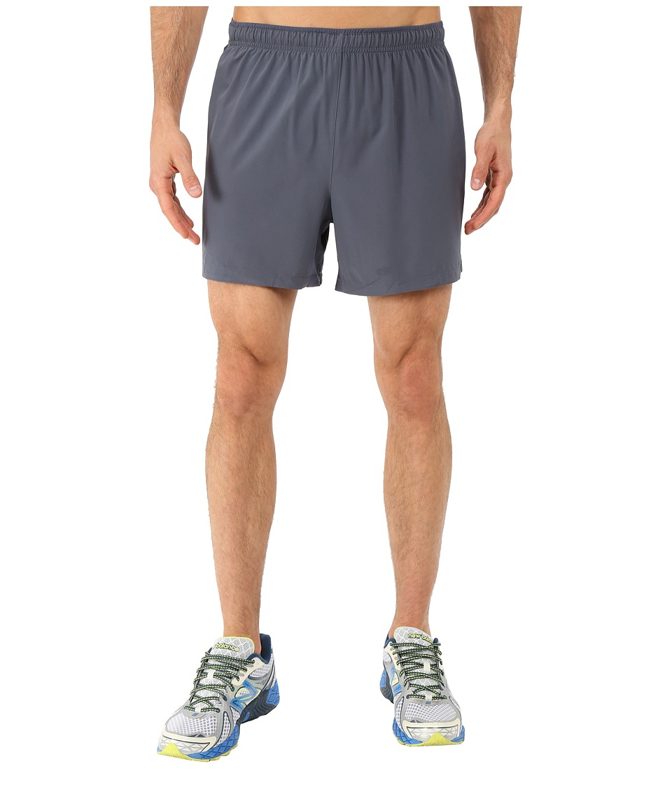 New Balance - Impact 5 Track Short (Thunder/Impulse) Men's Shorts