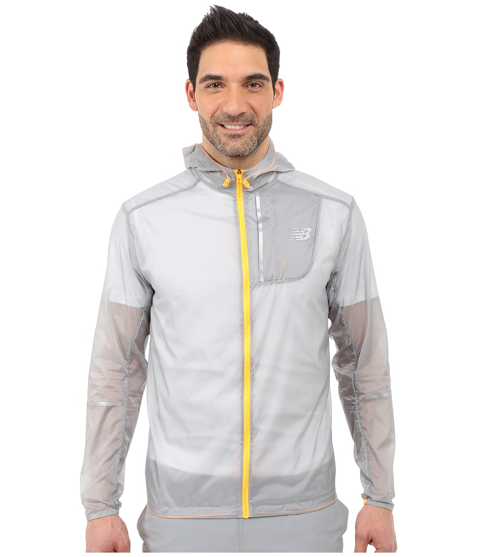 New Balance - Lite Packable Jacket (Silver Mink/Impulse) Men's Coat