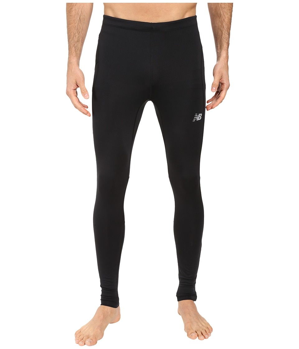 New Balance - Impact Tights (Black) Men's Casual Pants