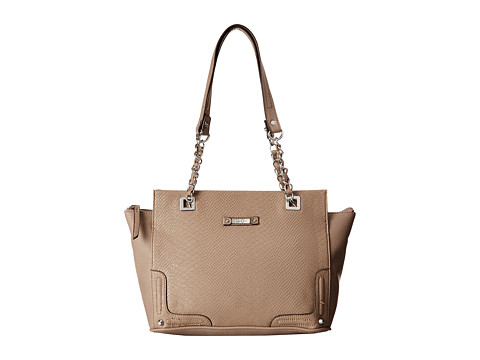 Jessica Simpson - Eileen Satchel (Dove Grey/Dove Grey) Satchel Handbags