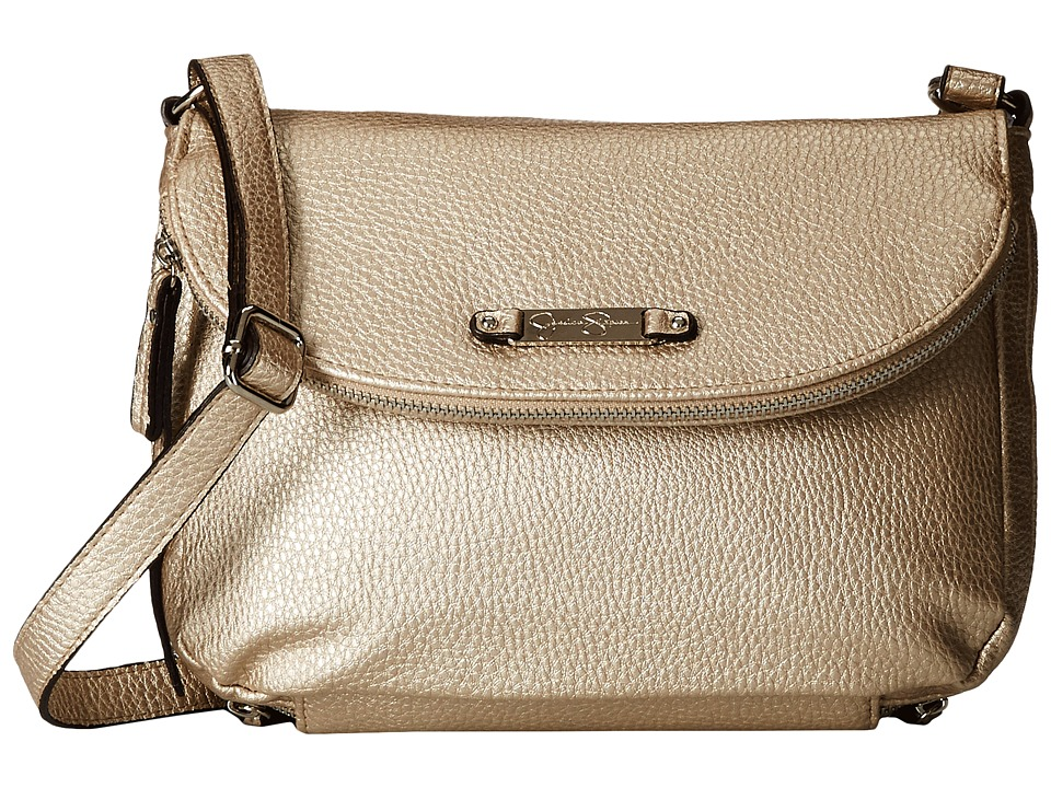 Jessica Simpson - Kimberly Crossbody (Champaign) Cross Body Handbags