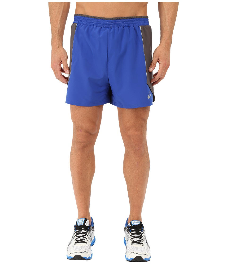 ASICS - Tech Shorts 5 (Airforce Blue) Men's Shorts