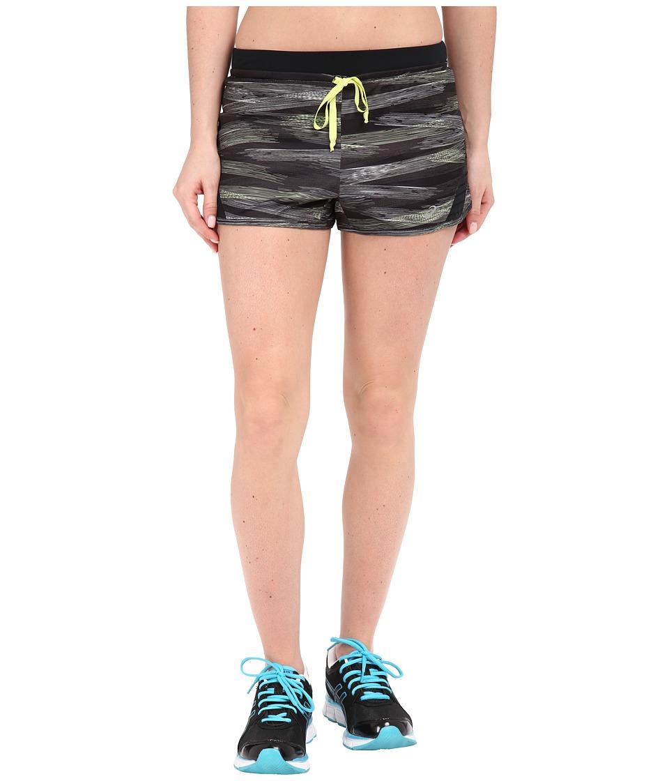 ASICS - Lite-Show Shorts (Black Lite-Show Print) Women's Shorts