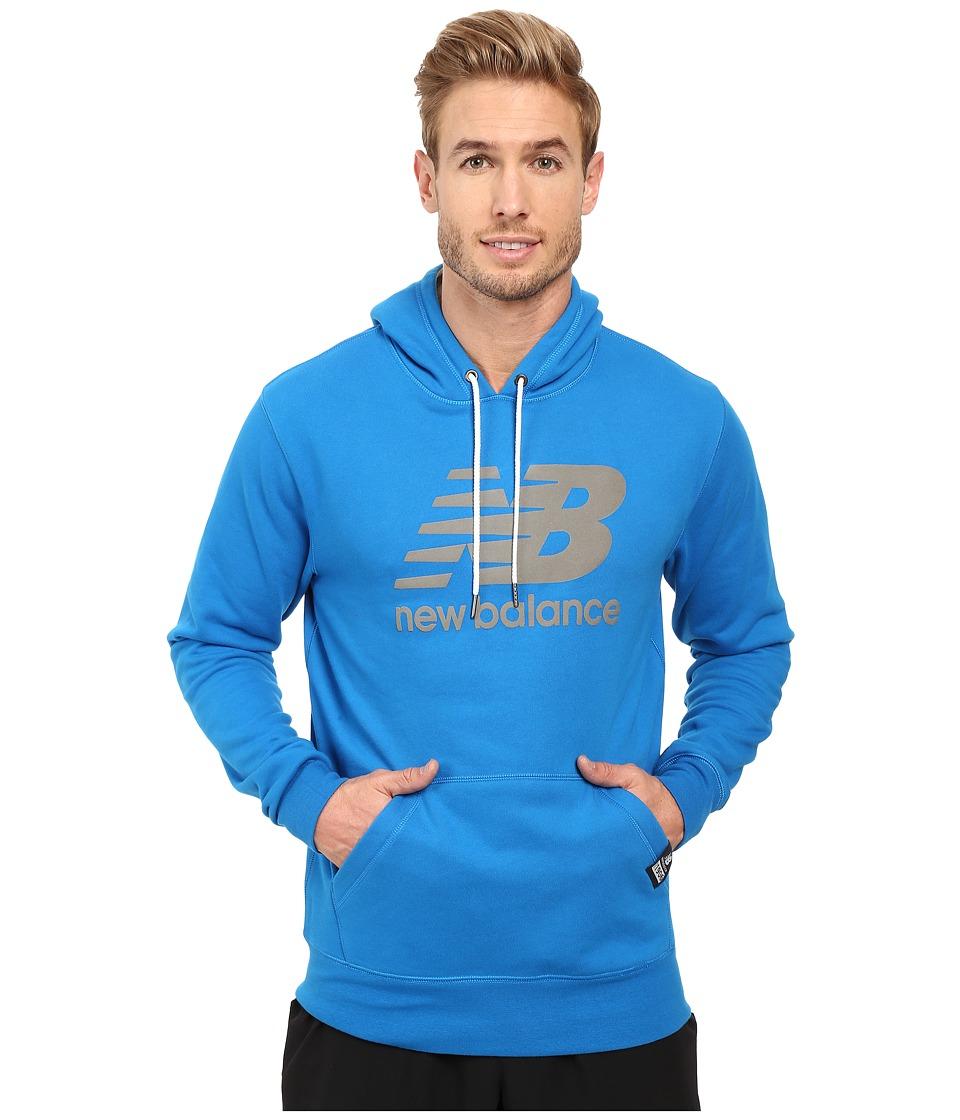 New Balance - Pullover Hoodie (Sonar) Men's Sweatshirt