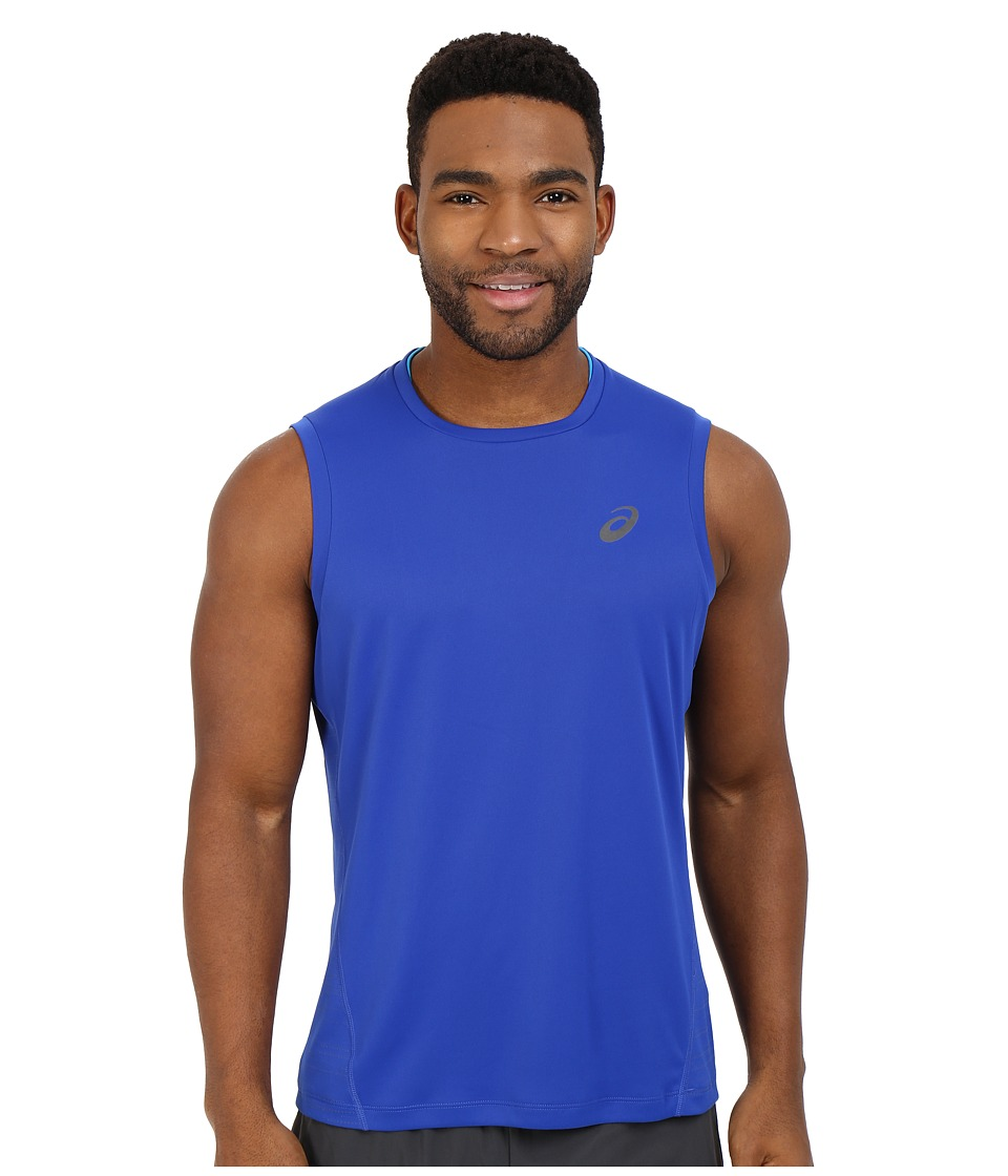 ASICS - Lite-Show Sleeveless Top (Airforce Blue) Men's Sleeveless