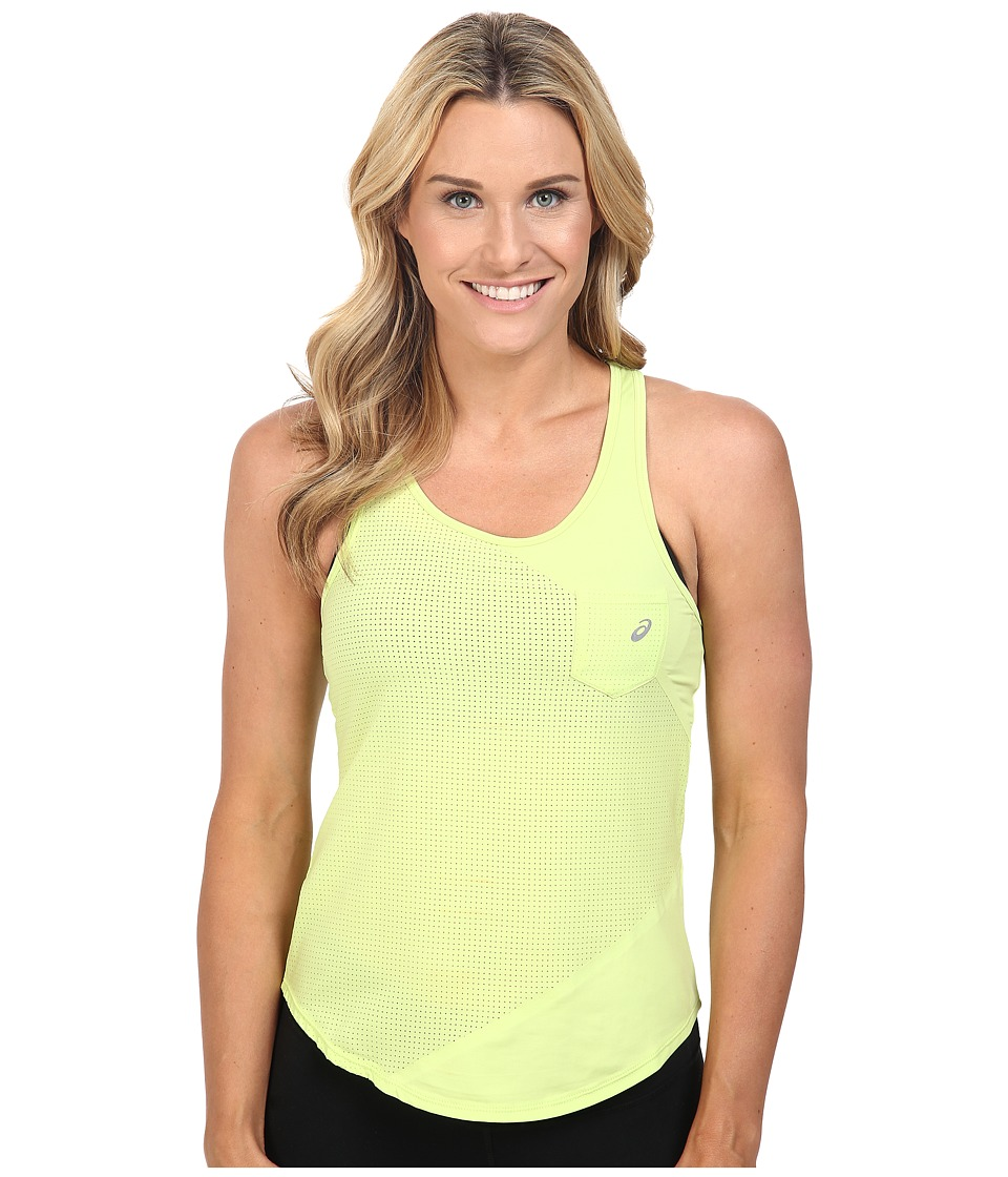 ASICS - Engage Mesh Mix Tank Top (Pistachio) Women's Sleeveless