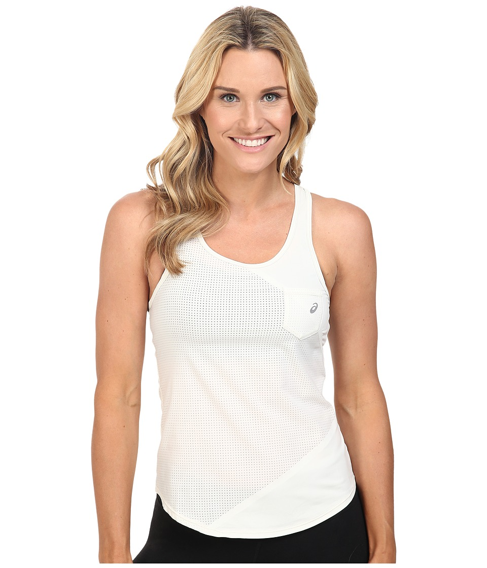 ASICS Engage Mesh Mix Tank Top (Icicle) Women