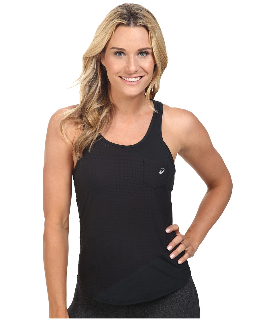ASICS - Engage Mesh Mix Tank Top (Performance Black) Women's Sleeveless