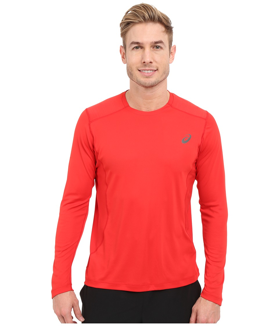ASICS - Lite-Show Long Sleeve Top (Formula One) Men's Long Sleeve Pullover