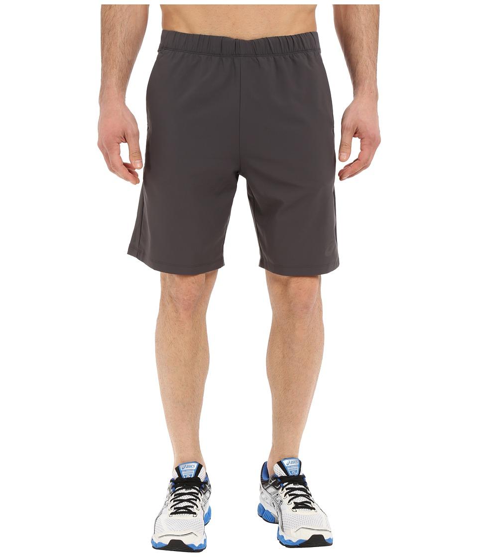 ASICS - Woven Shorts 9 (Dark Grey) Men's Shorts