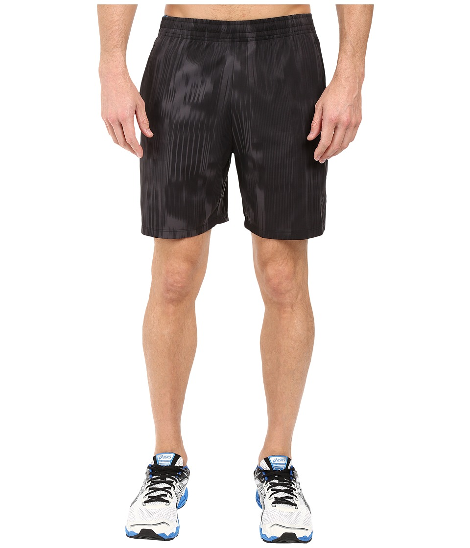 ASICS - Printed 7in Shorts (Black Fusion Print) Men's Shorts