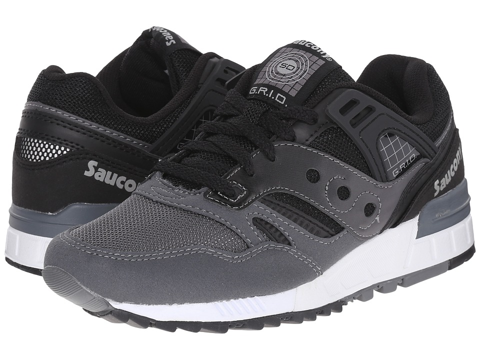 Saucony Originals - Grid SD (Black/Grey) Men's Classic Shoes