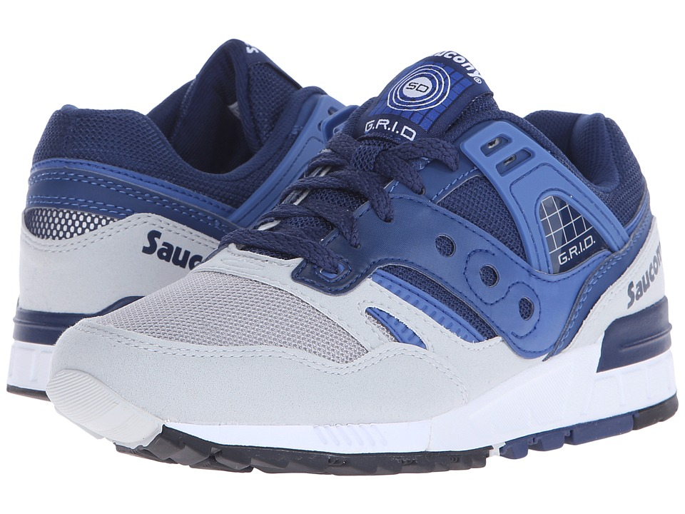 Saucony Originals - Grid SD (Blue/Light Grey) Men's Classic Shoes