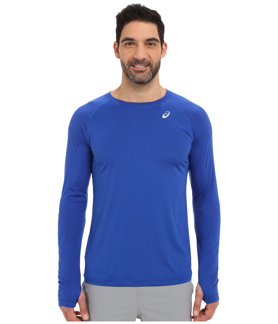 ASICS - ASX Dry Long Sleeve (Airforce Blue) Men's Long Sleeve Pullover