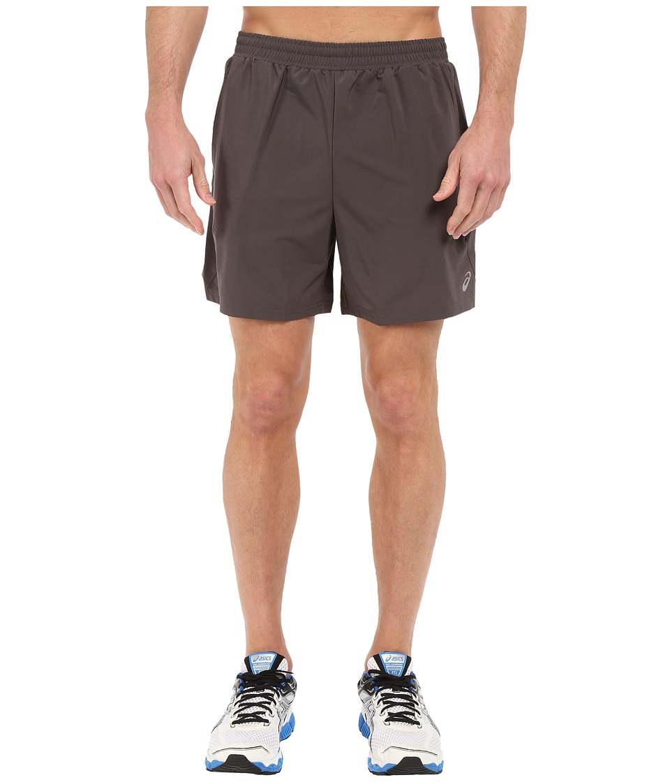 ASICS - 2-N-1 Shorts 6 (Dark Grey) Men's Shorts