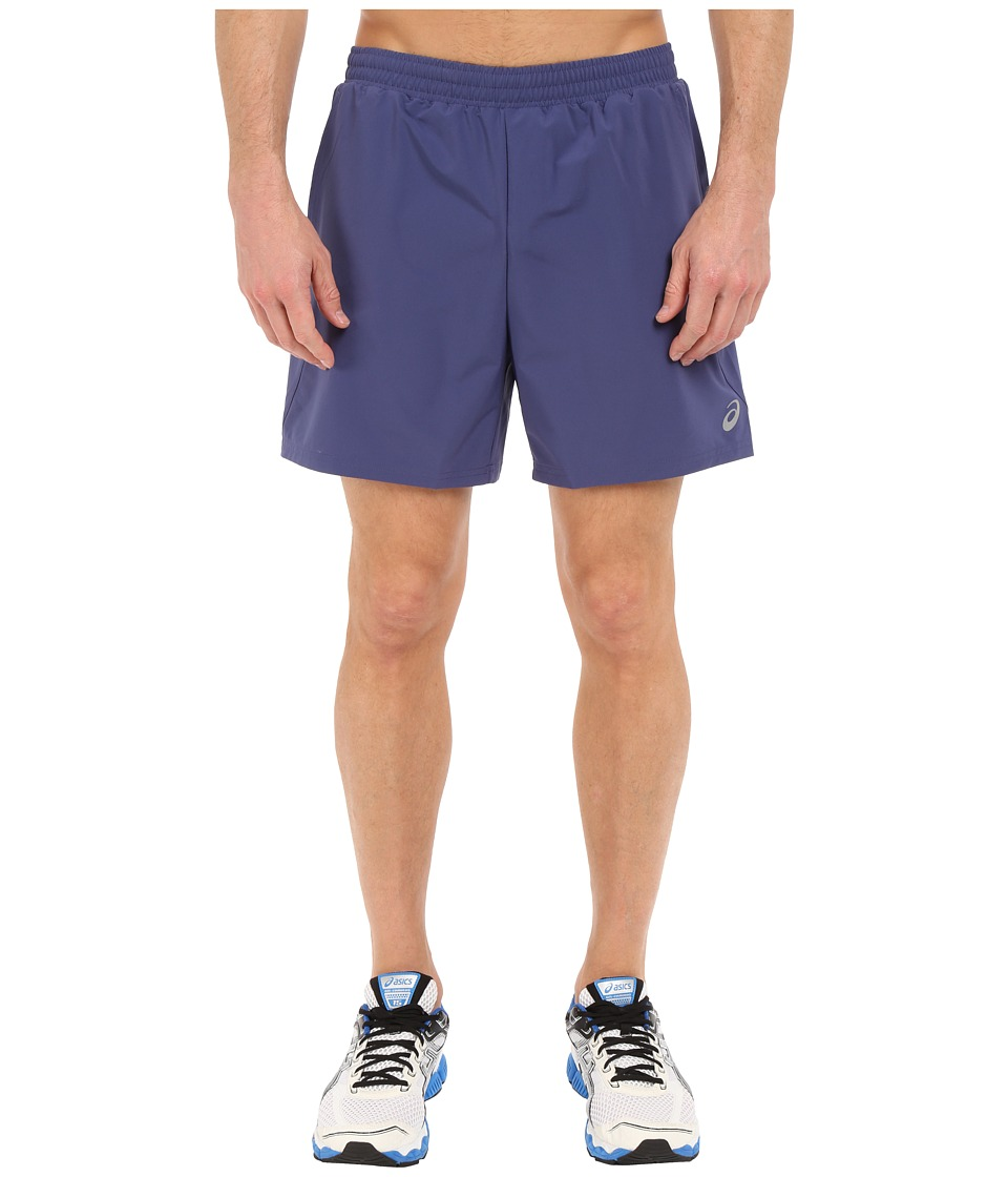 ASICS 2-N-1 Shorts 6 (Deep Cobalt) Men