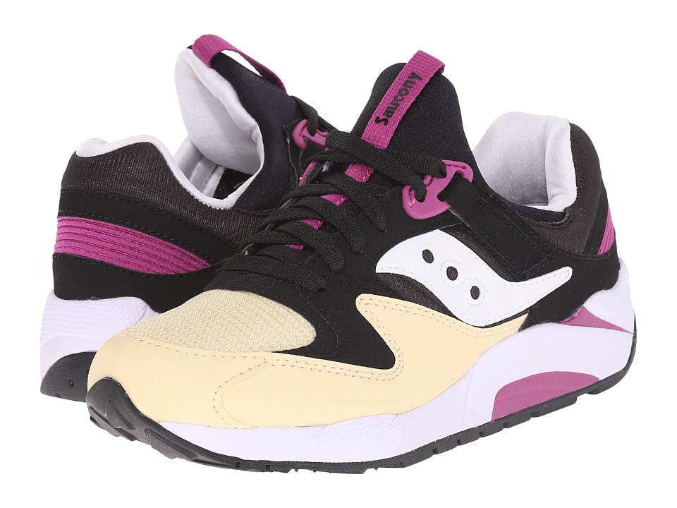 Saucony Originals - Grid 9000 (Black/Cream) Men