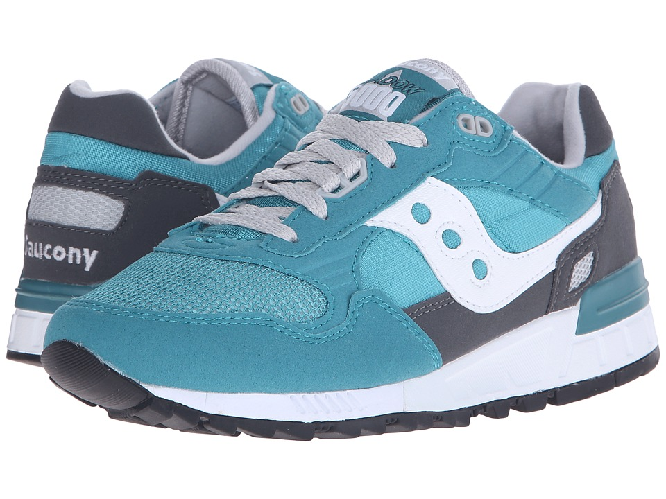 Saucony Originals - Shadow 5000 (Aqua Green/Charcoal) Men