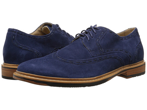 Rockport - Parker Hill Wingtip Oxford (Peacoat) Men's Shoes