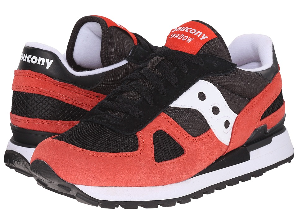 Saucony Originals - Shadow Original (Black/Light Red) Men's Classic Shoes