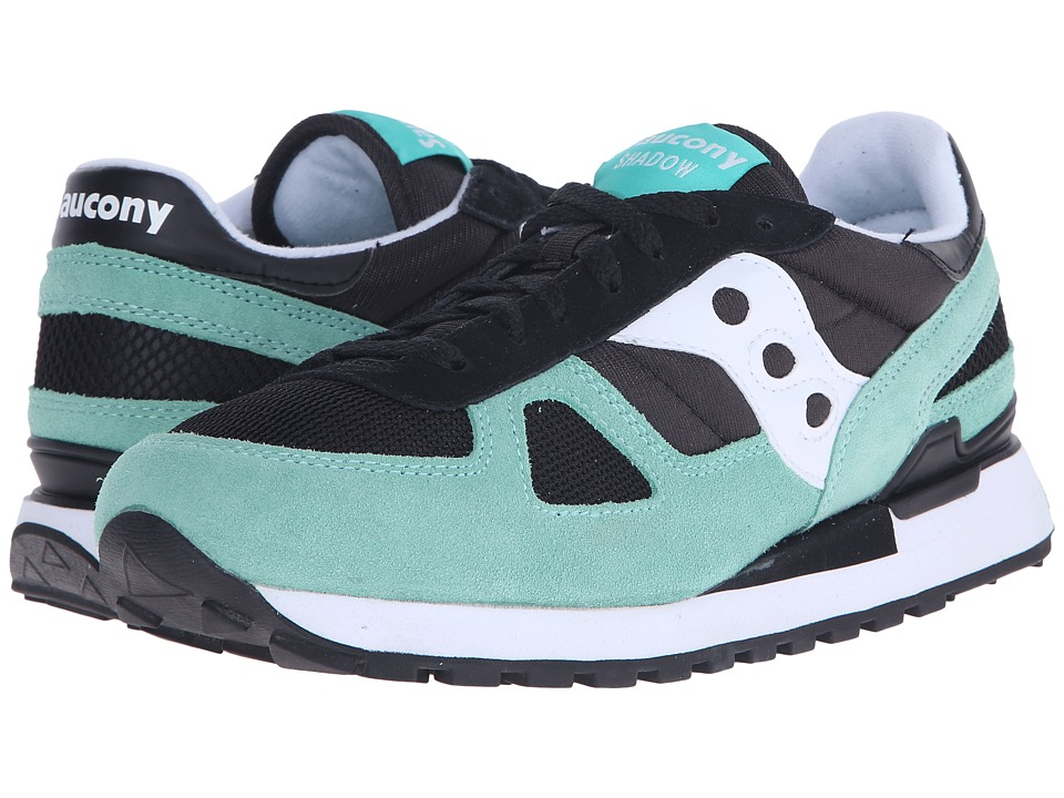 Saucony Originals - Shadow Original (Black/Aqua) Men's Classic Shoes