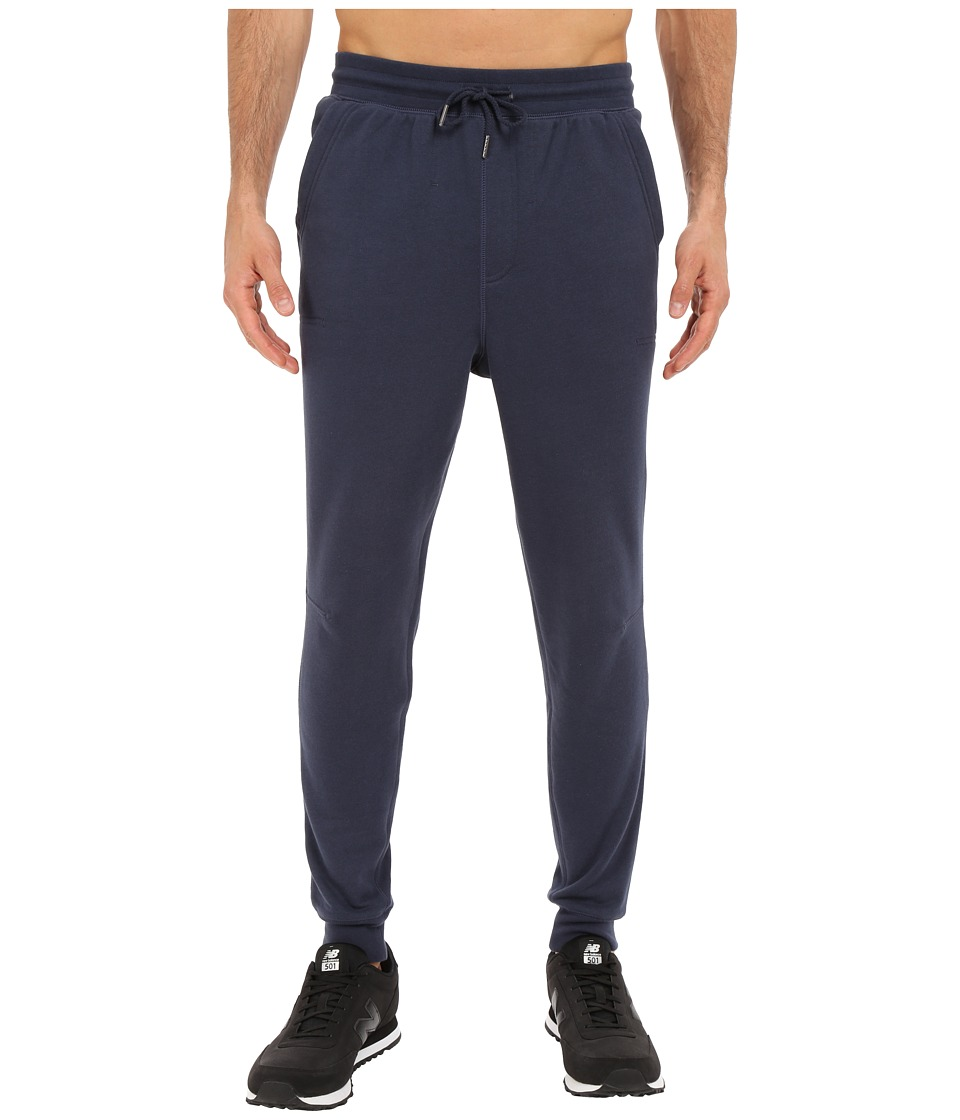 New Balance - Classic Sweatpant (Navy) Men's Casual Pants