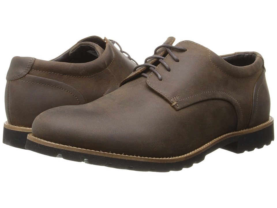 Rockport - Sharp Ready Colben (Brown Oiled Leather) Men's Shoes