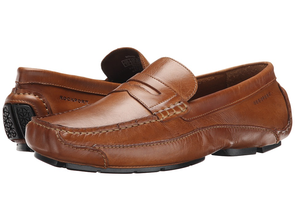 Rockport - Luxury Cruise Penny (Tan) Men's Shoes
