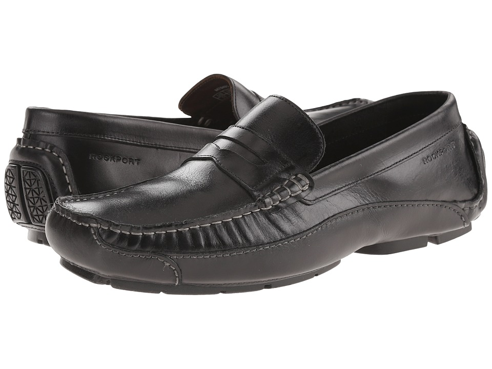 Rockport - Luxury Cruise Penny (Black) Men's Shoes