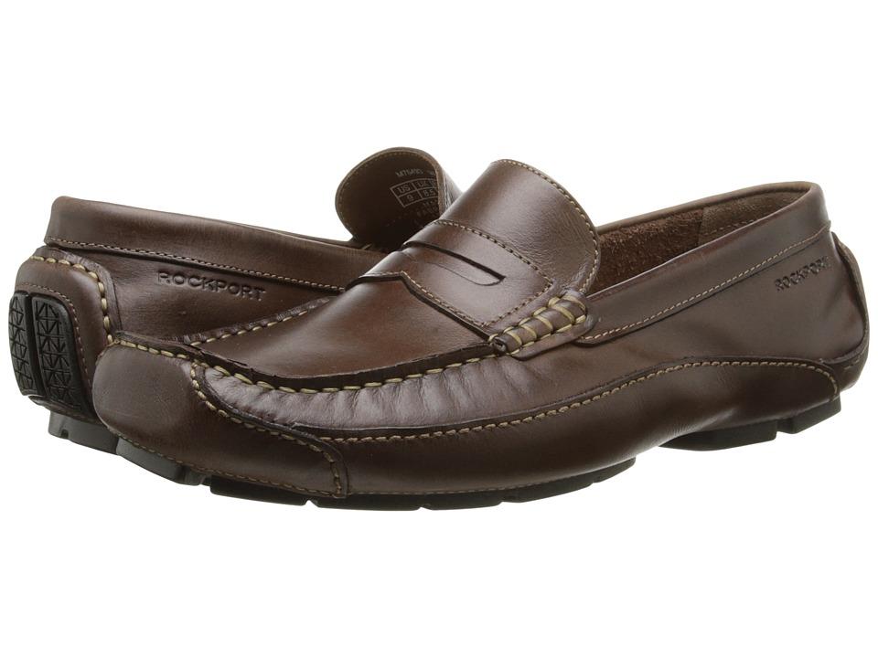 Rockport Luxury Cruise Penny (Dark Brown) Men
