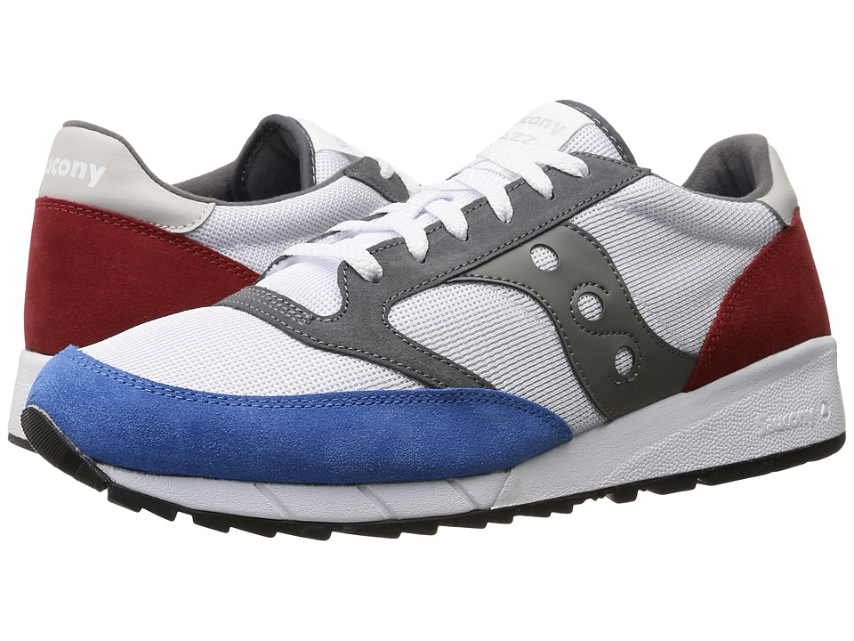 Saucony Originals - JAZZ 91 (White/Red/Blue) Men's Classic Shoes