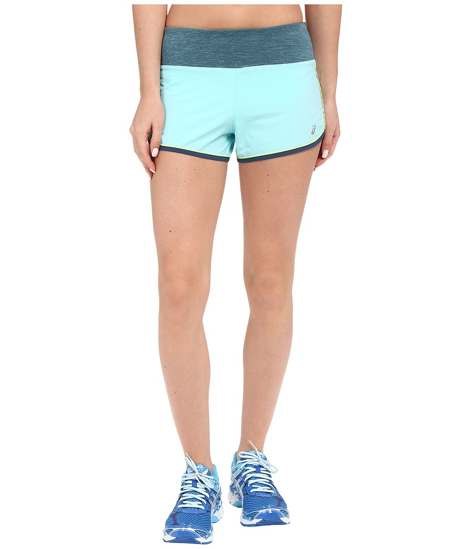 ASICS - Everysport Shorts (Turquoise) Women's Shorts