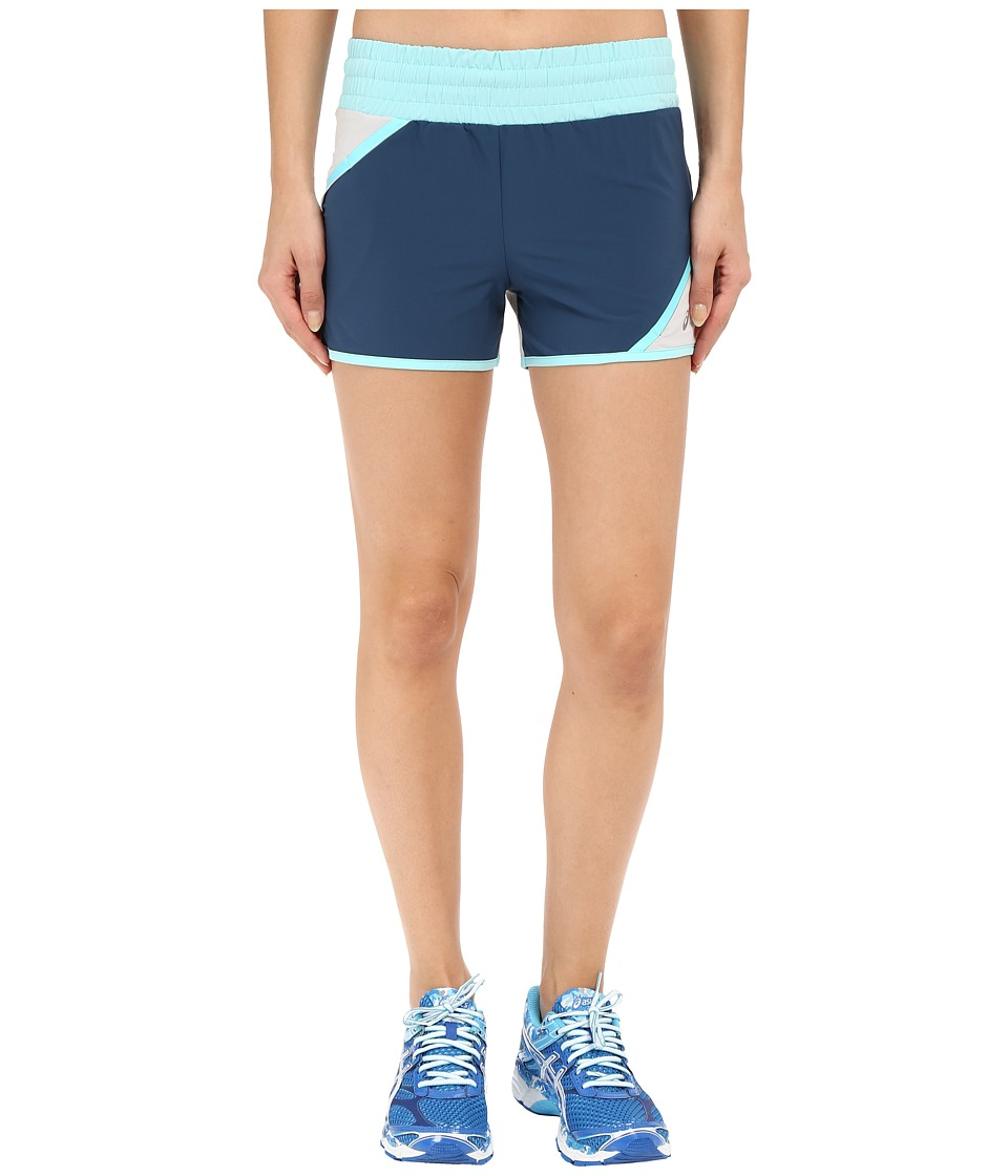 ASICS - ASX Distance Shorts (Dark Teal) Women's Shorts