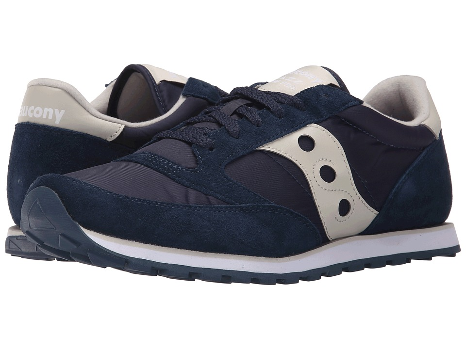 Saucony Originals - Jazz Low Pro (Dark Navy) Men's Classic Shoes