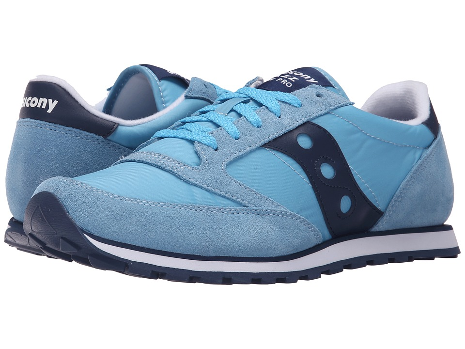 Saucony Originals - Jazz Low Pro (Light Blue) Men