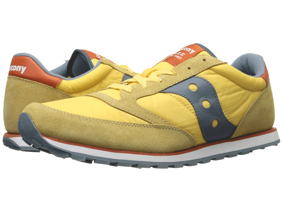Saucony Originals - Jazz Low Pro (Mustard) Men's Classic Shoes