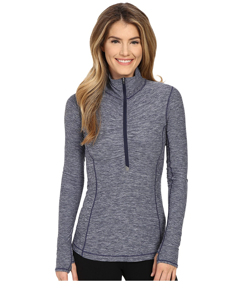 New Balance - In Transit 1/2 Zip Top (Aviator) Women's Long Sleeve Pullover