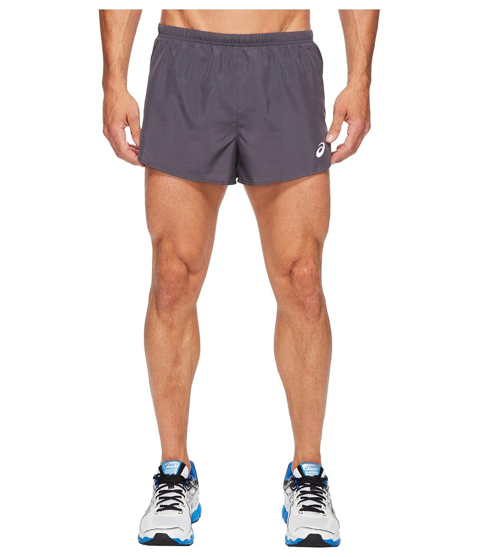 ASICS Split Shorts 3 (Dark Grey) Men