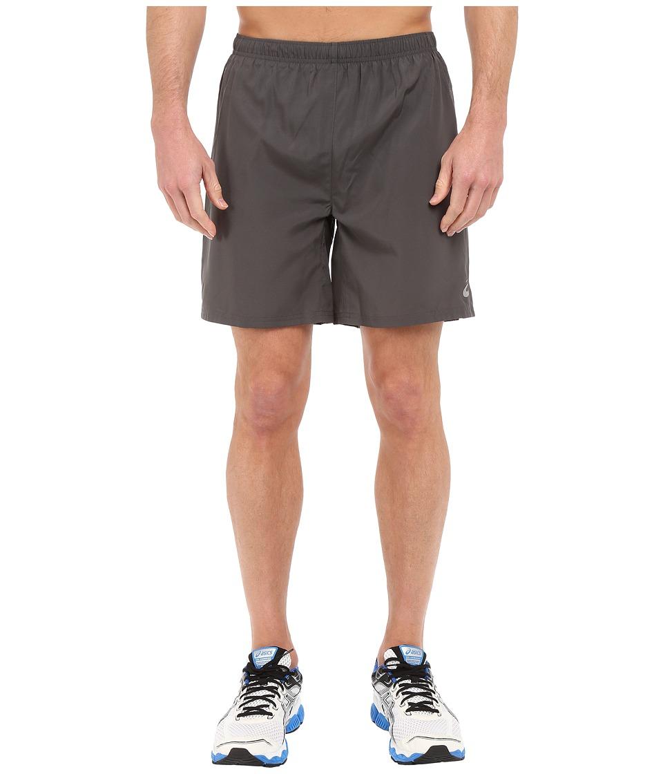 ASICS - Woven Short 7 (Dark Grey) Men's Shorts