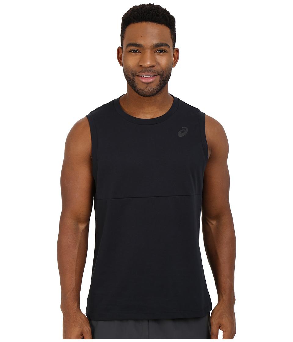 ASICS - Block Tank Top (Performance Black) Men's Sleeveless