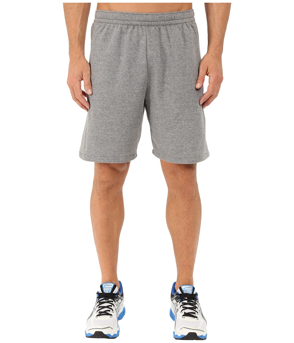 ASICS - Knit Shorts 9in (Grey Heather) Men's Shorts