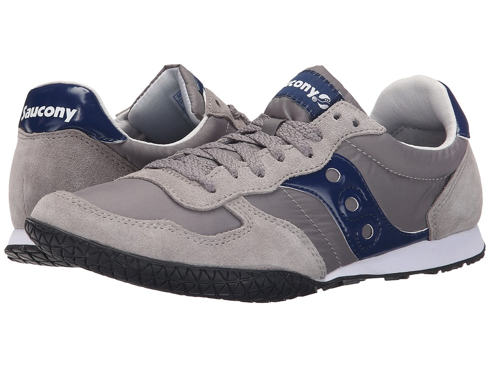 Saucony Originals - Bullet (Light Grey/Blue) Men's Classic Shoes