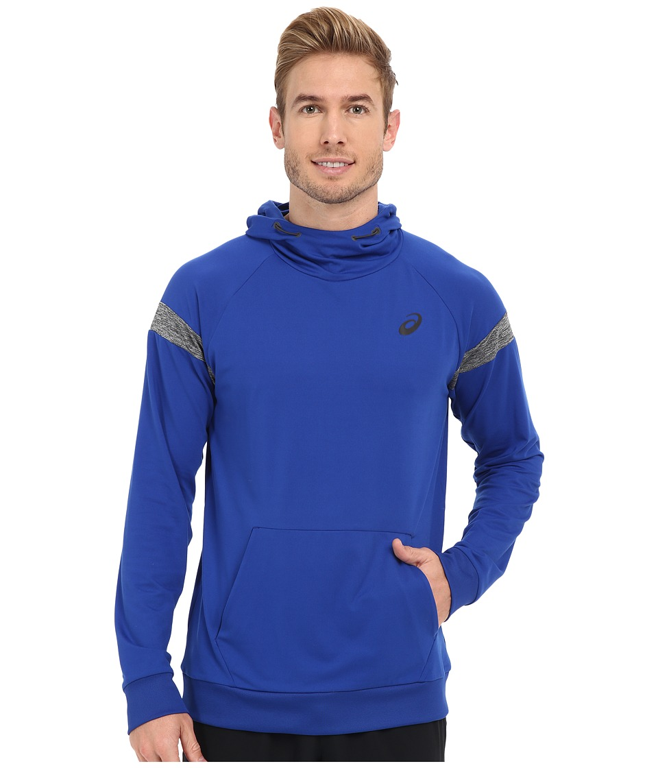 ASICS - Sanded Hoodie (Airforce Blue) Men's Sweatshirt