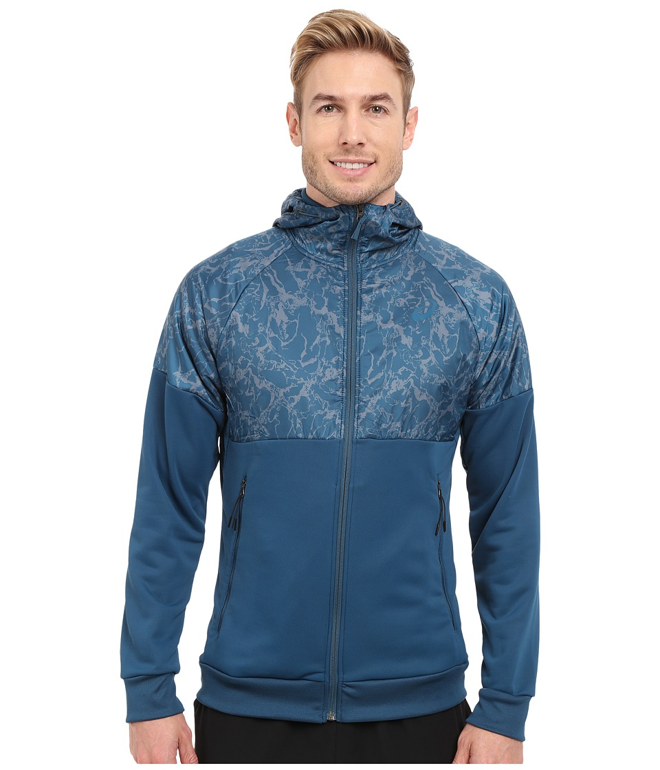 ASICS - Graphic Jacket (Ink Blue) Men's Sweatshirt