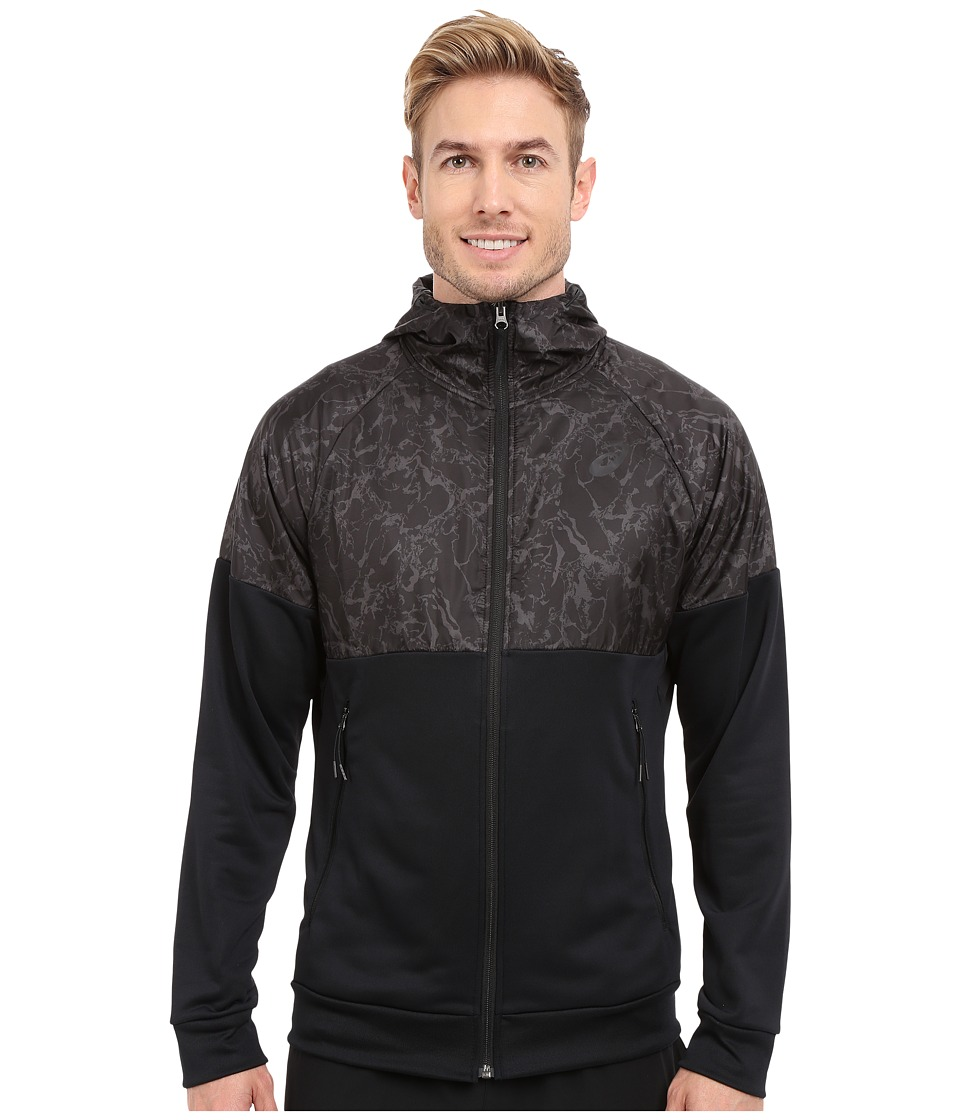 ASICS - Graphic Jacket (Performance Black) Men's Sweatshirt