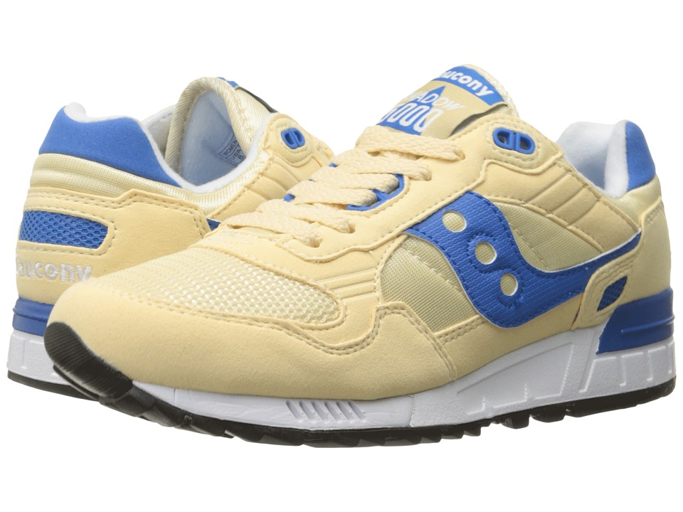 Saucony Originals - Shadow 5000 (Cream/Blue) Women's Classic Shoes